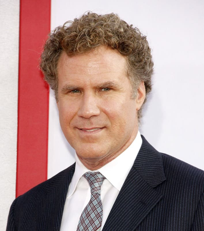 actor with curly hair - Will Ferrell