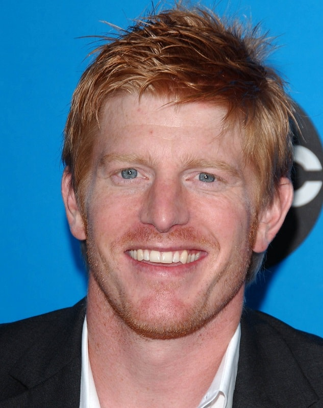 actor with red hair - Michael Weaver