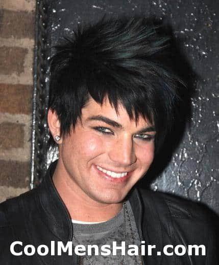 Adam Lambert hairstyles