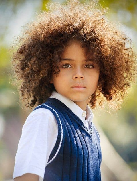 big afro hairstyle for boys