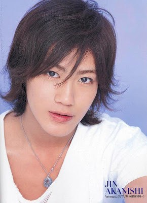 Akanishi Jin's hairstyle