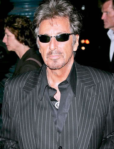 Picture of Al Pacino hairstyle.
