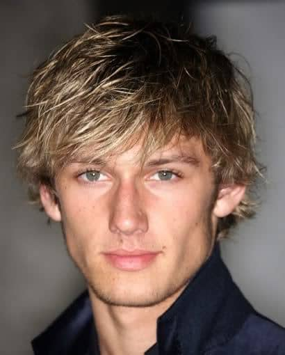 Photos of Alex Pettyfer Surfer Hairstyle