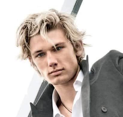 Alex Pettyfer Surfer Hairstyle