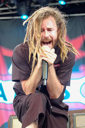 Anders Friden dreadlocks haircut