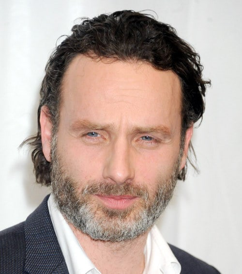 Andrew Lincoln Hairstyle Cool Mens Hair