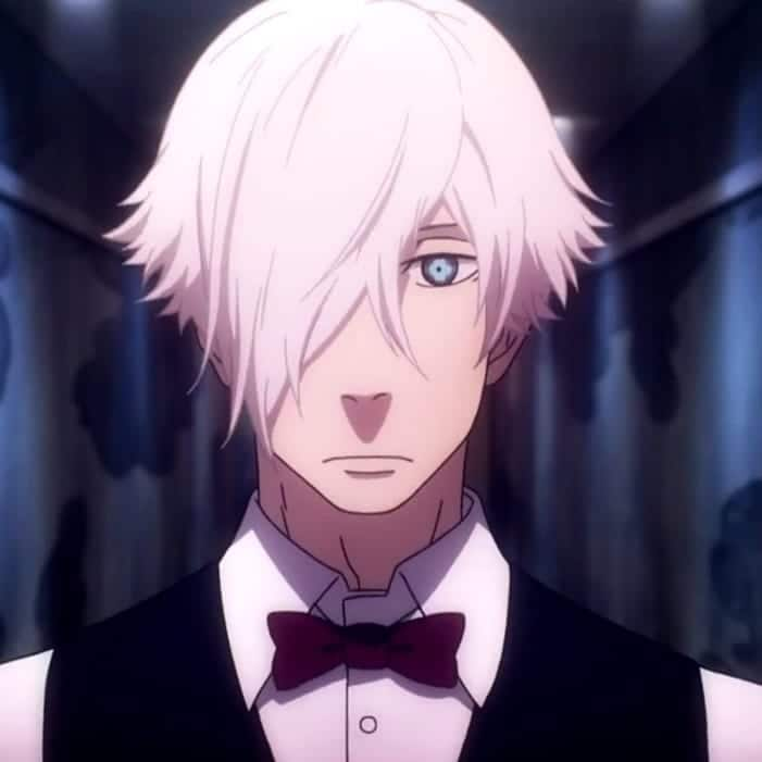 popular anime characters with white hair