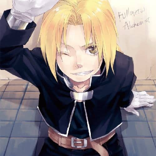 anime boy blonde hair
