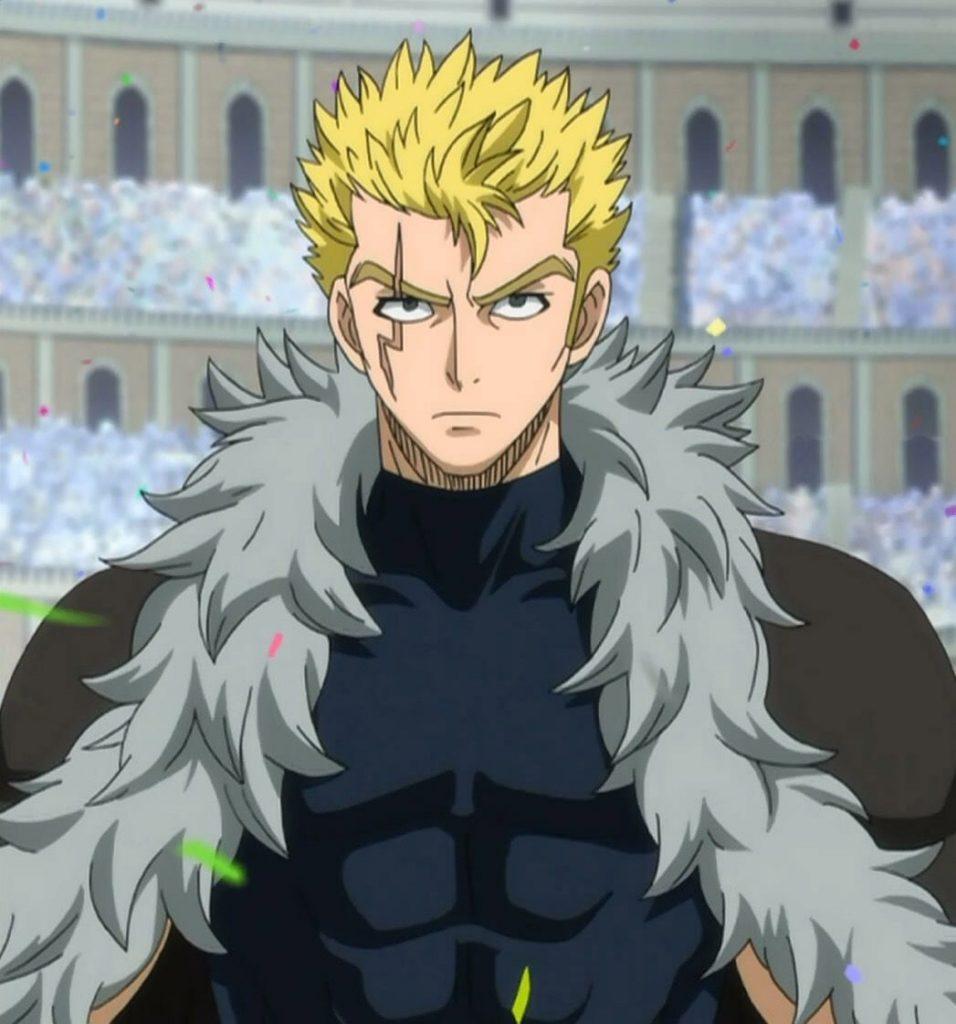 Laxus Dreyar's Blonde Anime Hairstyle