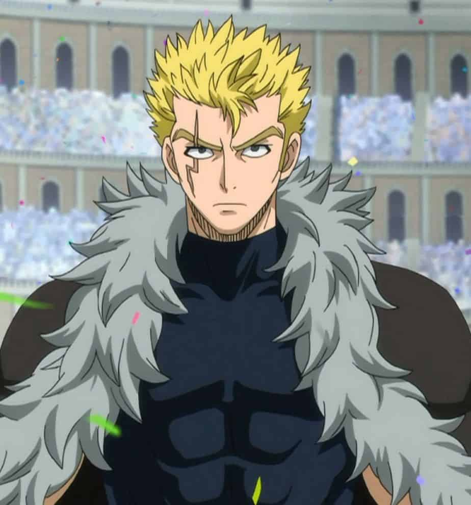 Laxus Dreyar's Blonde Anime Hairstyle