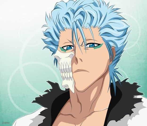 Light Blue haired Anime Boy