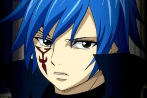anime boy blue hair