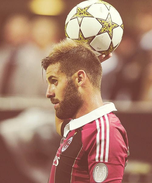 Antonio Nocerino hair - side view.