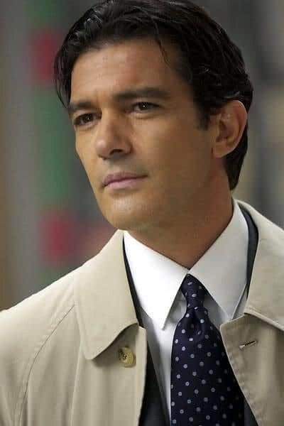 Antonio Banderas formal hairstyle