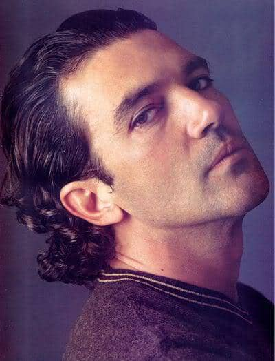 Antonio Banderas medium hairstyle