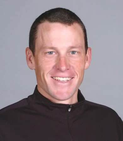 Lance Armstrong hairstyle photo.