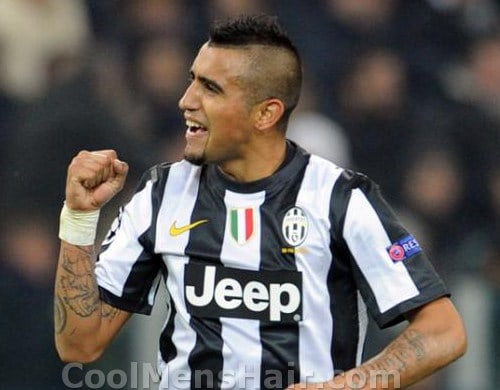 arturo-vidal-haircut
