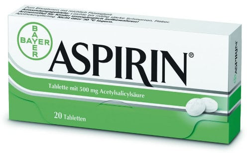 Image of aspirin.