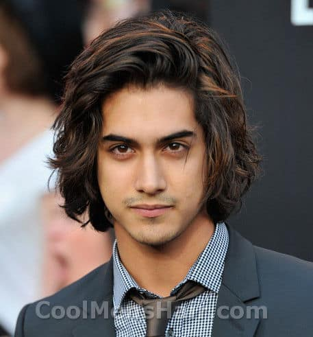 Photo of Avan Jogia hairstyle.