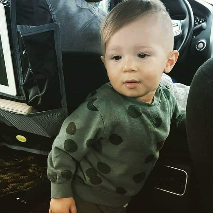 baby boy skater haircut