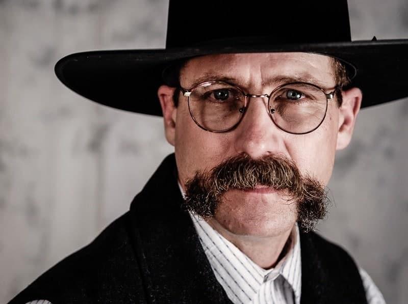 wild west bad mustache