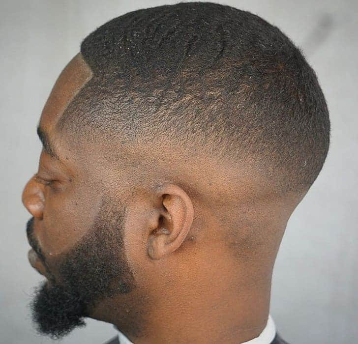Mid Taper Haircut Curly Hair 105