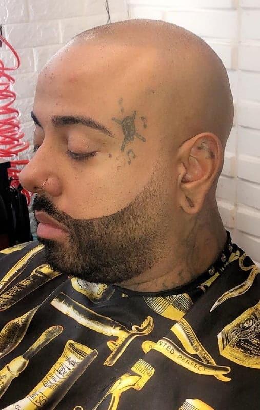 bald men with beard