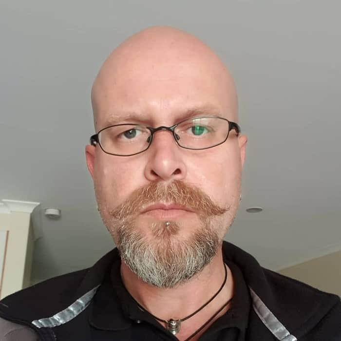 Bald Men With Beards 31 Looks To Flatter Yourself Cool Men S Hair
