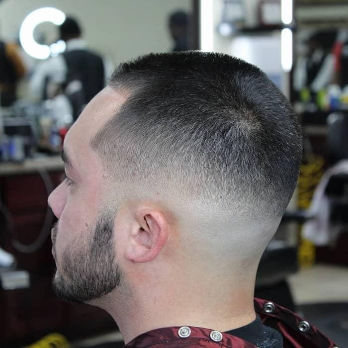 Bald Shadow Fade for Men