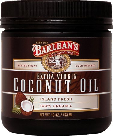 Image of Barlean's Organic Extra Virgin Coconut Oil.