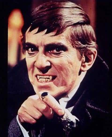 Picture of Barnabas Collins as portrayed by Jonathan Frid.