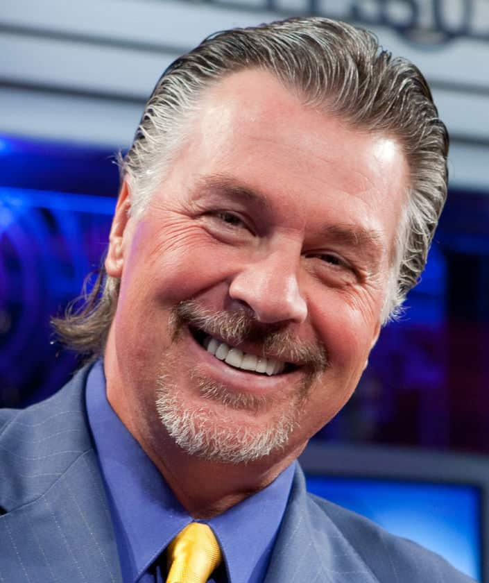 Photo of Barry Melrose hairstyle.