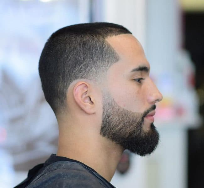 men's buzz cut