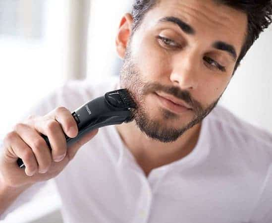 trimming time of beard