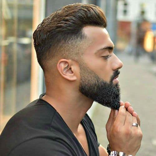 avoid shaving while beard growth