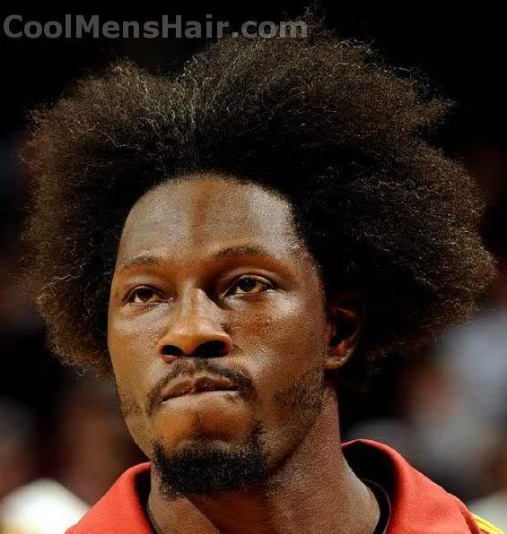 Image of Ben Wallace afro hair.
