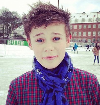 Photo of Benjamin Lasnier hairstyle.