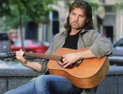 Billy Ray Cyrus mullet