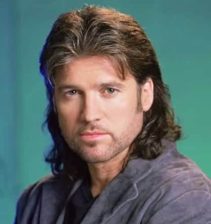 Billy Ray Cyrus mullet hairstyle photo.