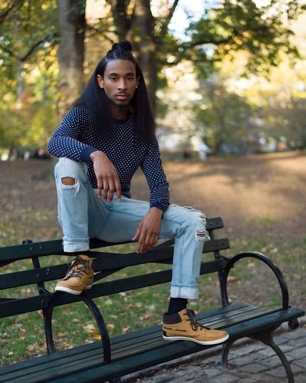 15 Best Long Hairstyles for Black Men (2020 Trends)