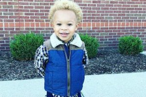 black kids with blonde hair