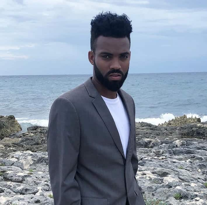 Black Dapper Hairstyle