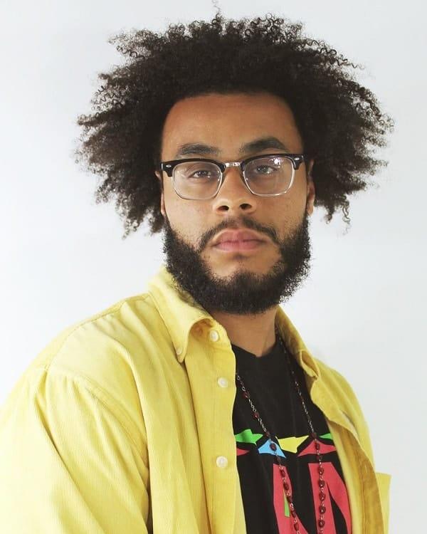 Black Men's Permed Hair