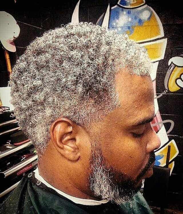 black men with grey hair