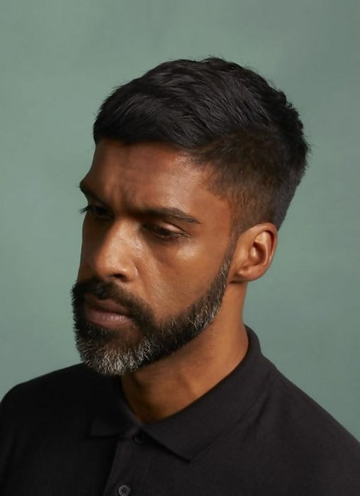 15 Sublime Ways To Wear Straight Hair For Black Men Cool