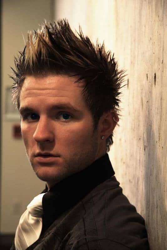 Blake Lewis faux-hawk hairstyle
