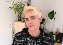 blonde scene hair for Guys