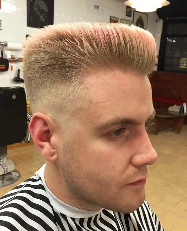 spiky blowout haircut