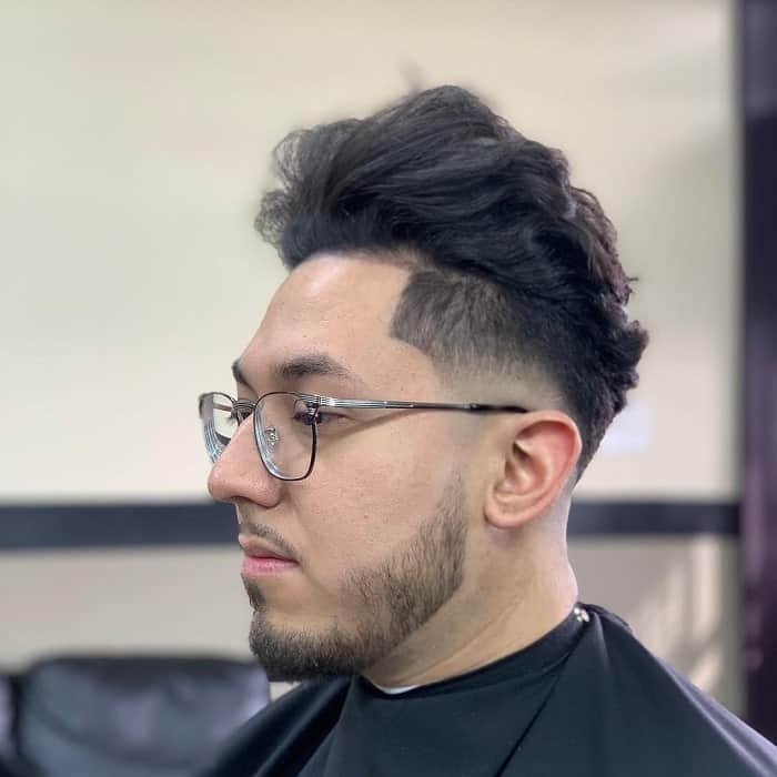 Blowout Taper Hairstyle for Men