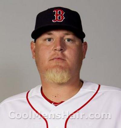 Photo of Bobby Jenks goatee.